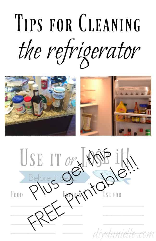 How to clean the refrigerator quickly and easily using liners.