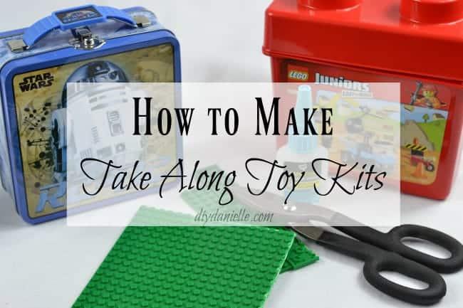 Easy Lego and Magnatile Travel Kits