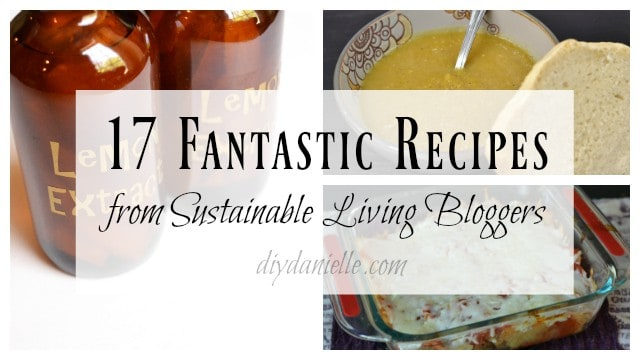 17 Fantastic Recipes from Sustainable Living Bloggers