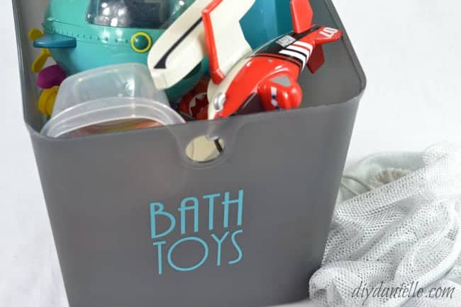 How to Clean Bath Toys in the Washing Machine