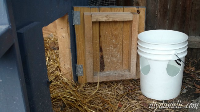 How to Make a No Mess Duck Waterer