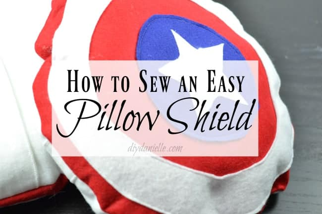 How to sew a pillow shield for pretend play.
