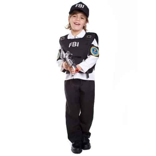 FBI Costume Idea for Kids