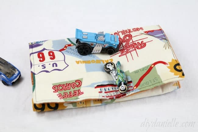 Sew A Toy Car Holder : How to sew a toy car carrier diy danielle