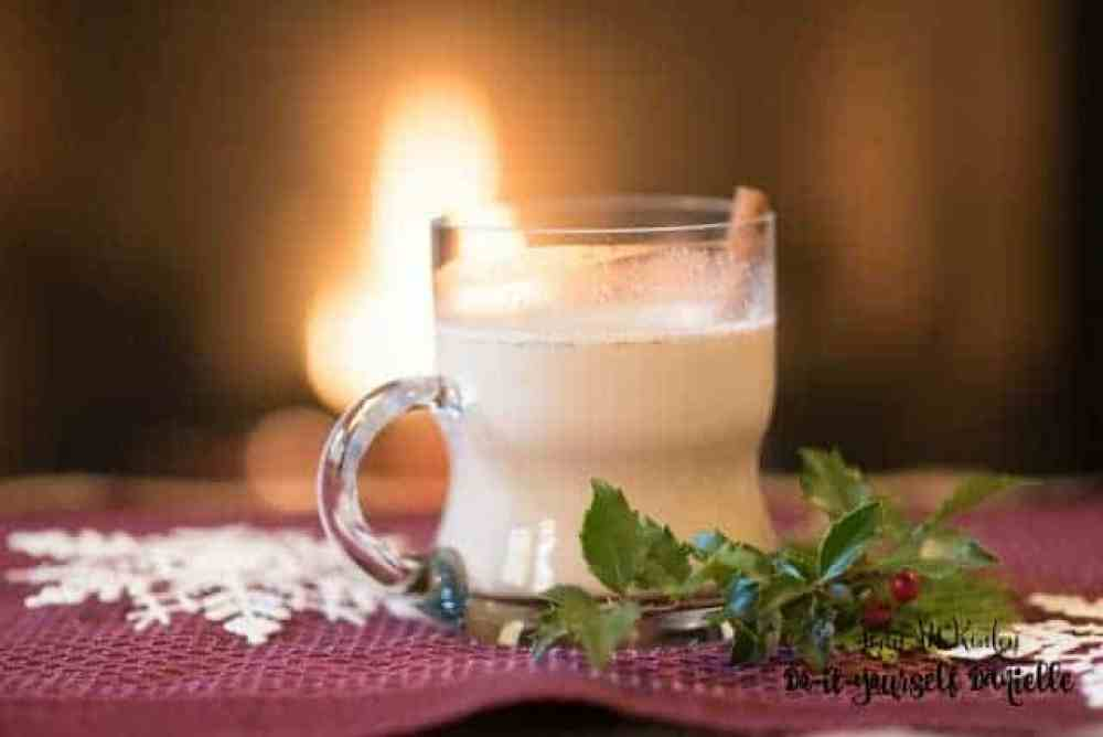 Chai Rum Chata can be served hot or cold.