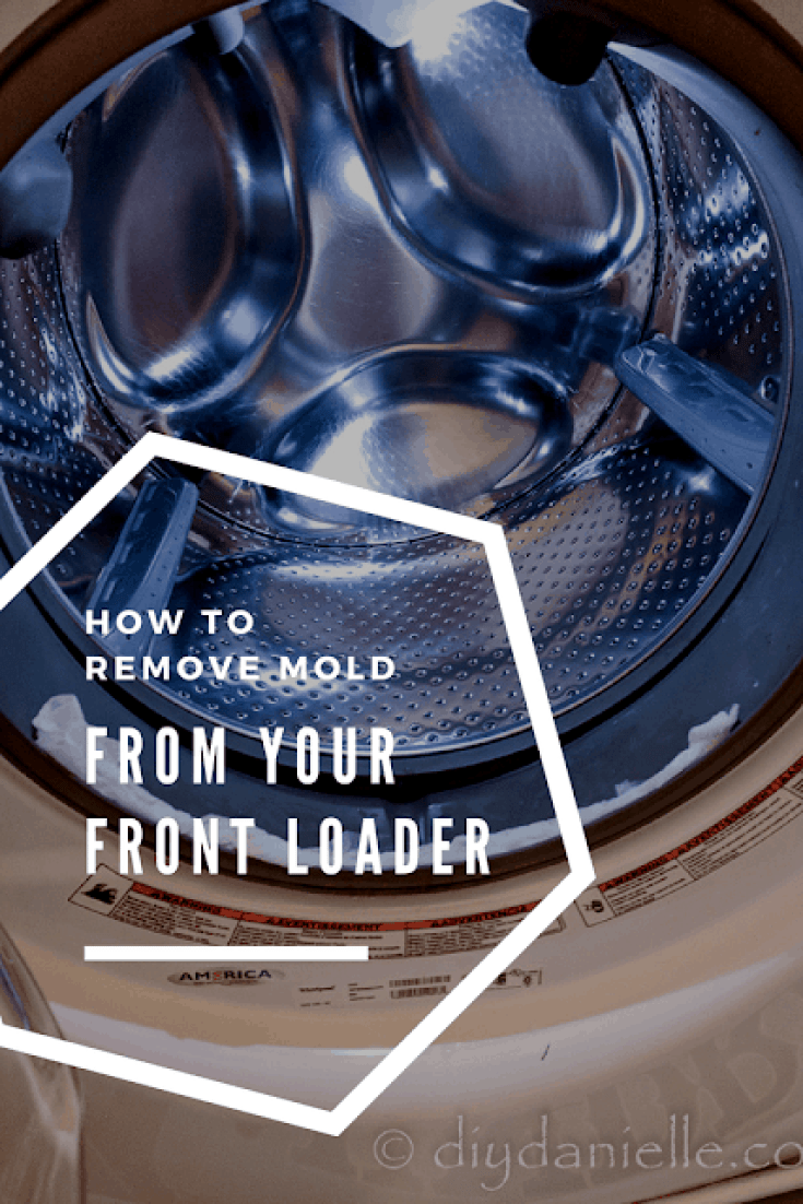 DIY Mold Removal from a Front Loader Washing Machine's Rubber Seal.