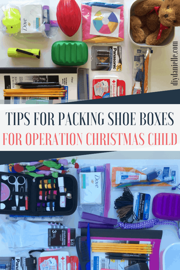 Tips for packing an Operation Christmas Child Shoe Box