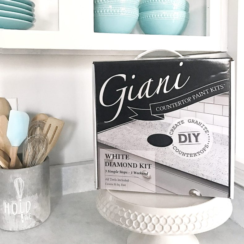 Paint Kitchen Countertops with Giani Paint