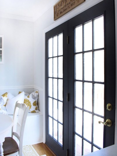 paint French doors