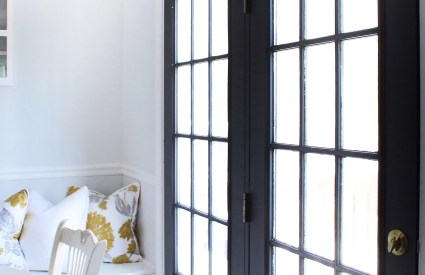 How to Paint French Doors
