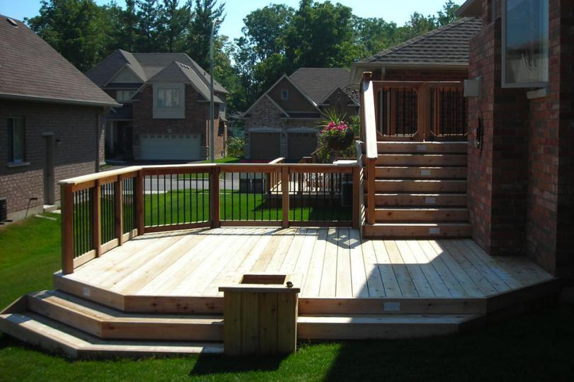 High Diy Deck Plans