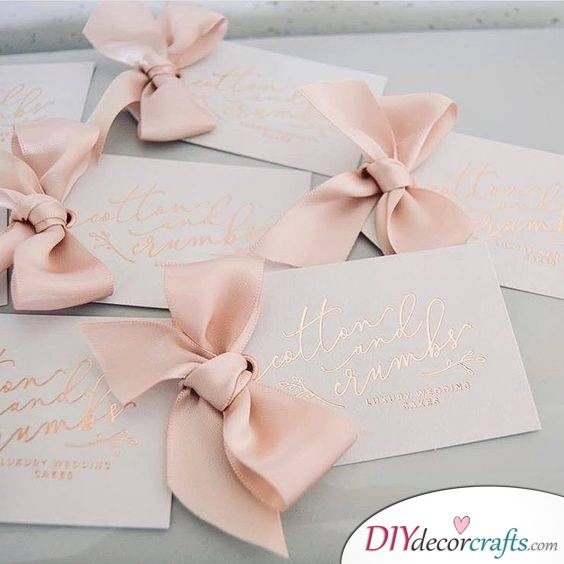 Diy Wedding Invitation Cards 40 Handmade Invitations