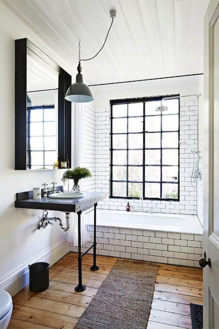 67+ Top Modern Farmhouse Bathroom Decor Ideas - Page 2 of 69
