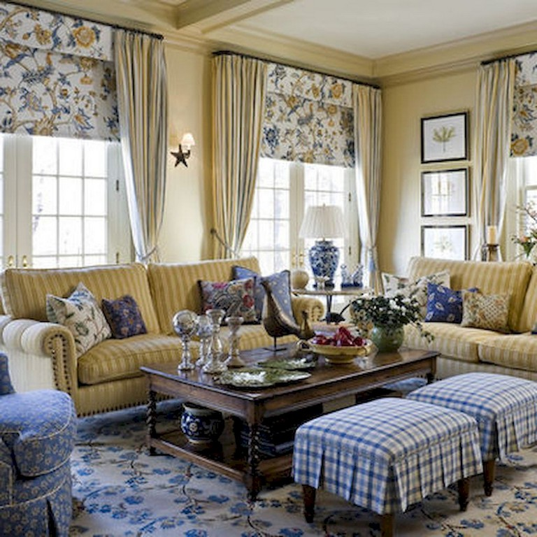 90+ Awesome Modern Farmhouse Curtains for Living Room ... on Farmhouse Living Room Curtain Ideas  id=79892