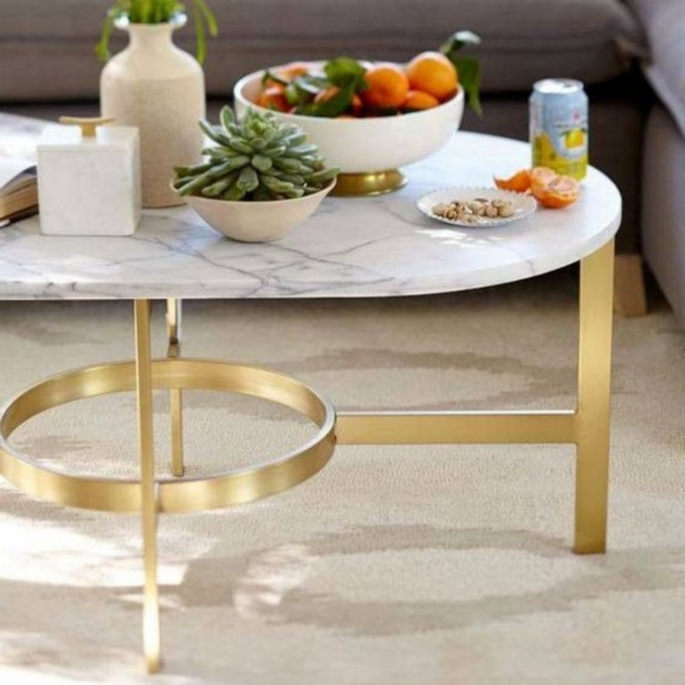 lovely marble coffee table design ideas