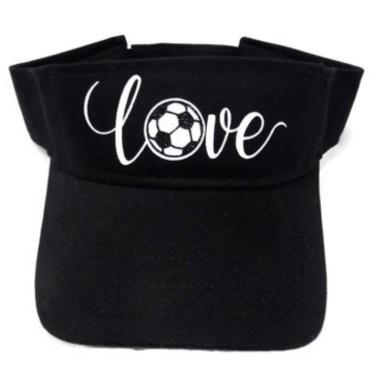 Soccer visor