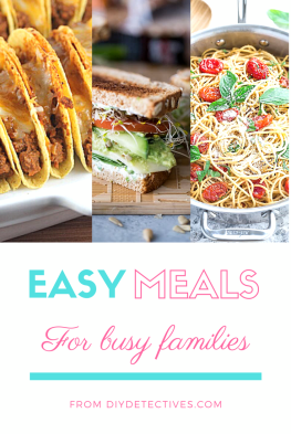 Easy Meals for Busy Families