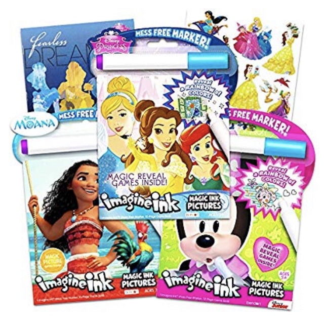 Magic Ink: Disney princess