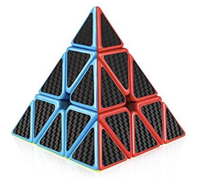 Pyramid speed cube
