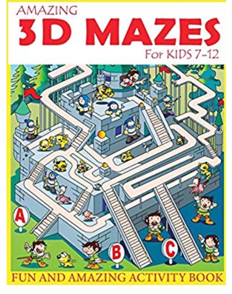Mazes for kids ages 7-12