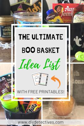 The Ultimate Boo Basket Idea List