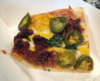 chorizo and jalapeno pizza