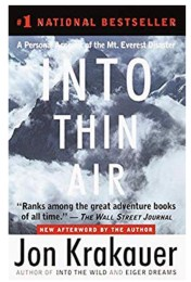 Fall Book List: Into Thin Air