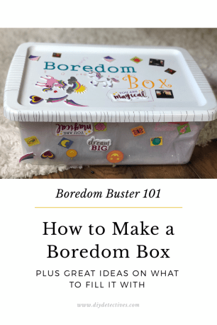 How to make a boredom box