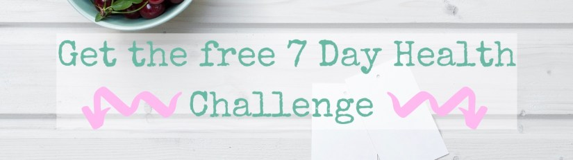 Stay Hydrated: 7 day Challenge