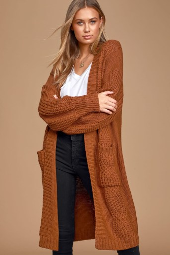 Cozy Sweaters: Cardigan