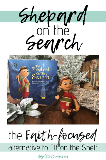 Shepard on the Search: A CHRISTmas Alternative to the Elf on a Shelf