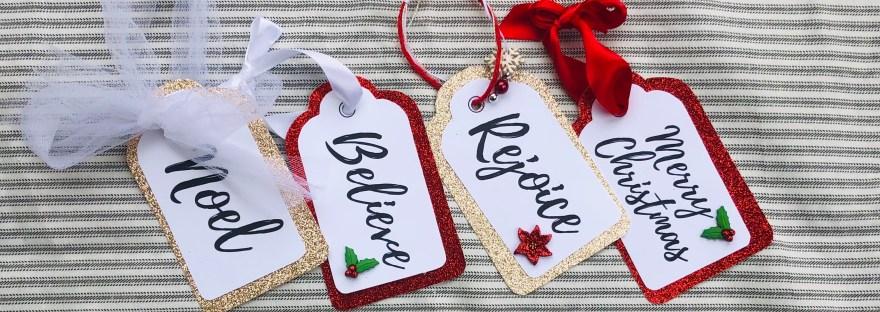 Printable gift tags