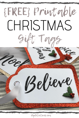 Printable Christmas Gift Tags: A Perfect Personal Touch