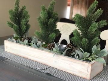 DIY Centerpiece: Fill with decor.