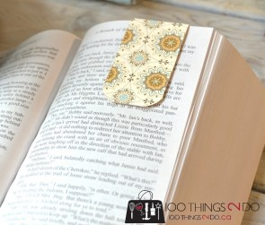 DIY Magnetic Bookmark