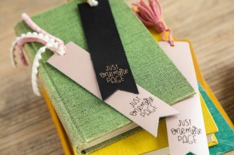 DIY Leather Bookmark
