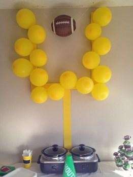 Touchdown Balloon Uprights
