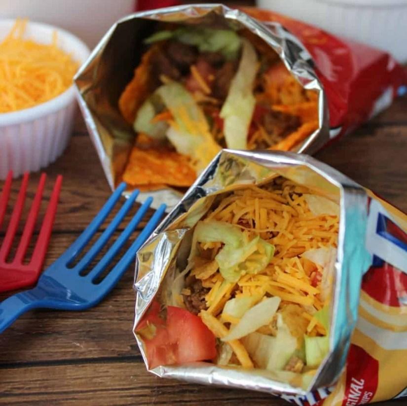 Super Bowl Party: Walking Tacos