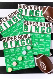 super Bowl Party: Commercial Bingo