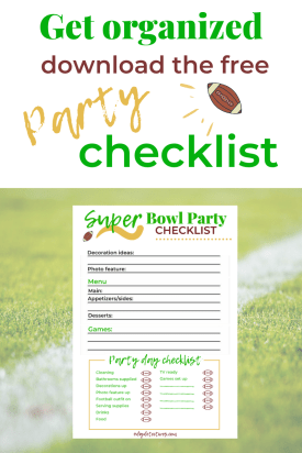 Get the FREE party checklist