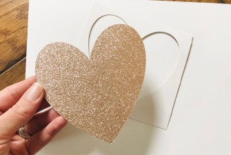 Card Stock shapes for your easy craft