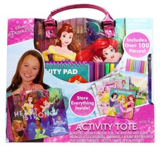 Crafts for girls: Disney Princess Activity Tote