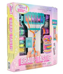Crafts for girls: Braiding and Bead Jewelry Kit