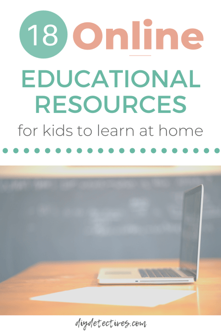 18 Online Educational Resources for Kids