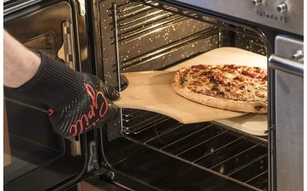 Pizza dough baking stone