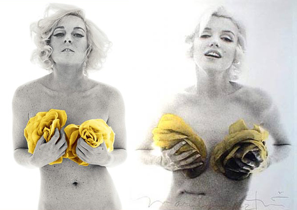 Made up like Marilyn (4/4)