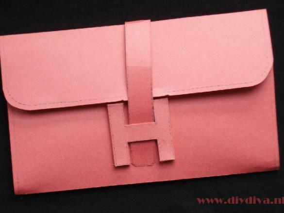Hermes tas maken deel II