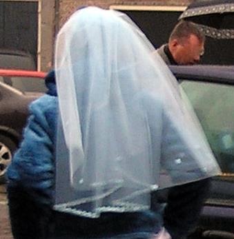 bruidssluier diydiva achterkant