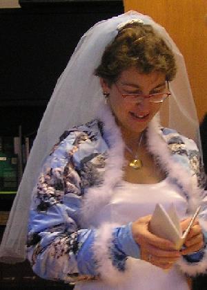 Bruidssluier zelf maken