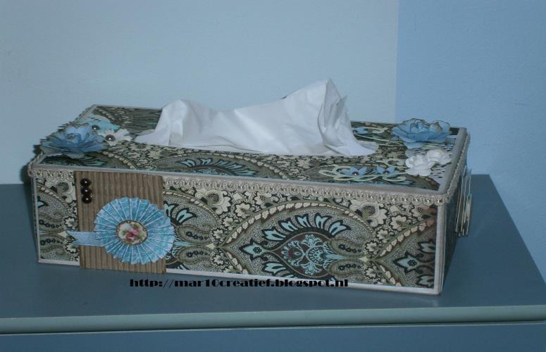 tissuebox versieren diydiva